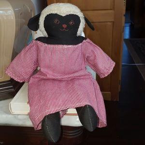 FOLK ART Sheep Doll